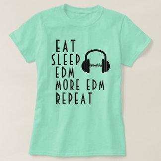 Camiseta T-shirt das meninas EDM