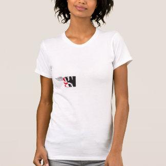 Camiseta T-shirt das mulheres da entrada