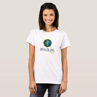 Camiseta T-shirt das mulheres de Nites do brasileiro