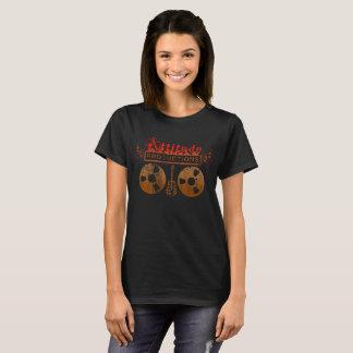 Camiseta T-shirt das produções da atitude - mulheres