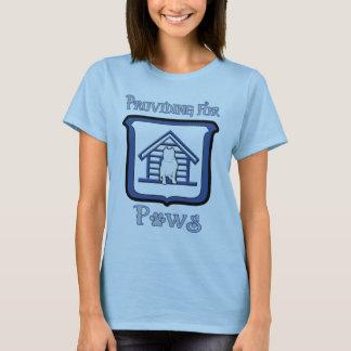 Camiseta T-shirt das senhoras com logotipo completo