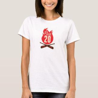 Camiseta T-shirt das senhoras de BTA HOF20