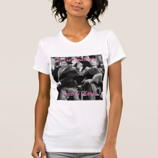 Camiseta T-shirt das senhoras de Chico & de Harpo Marx
