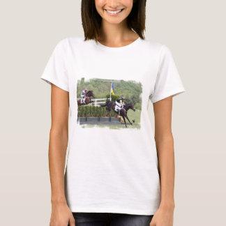 Camiseta T-shirt das senhoras de Eventing dos cavalos
