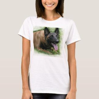 Camiseta T-shirt das senhoras de Malinois do belga