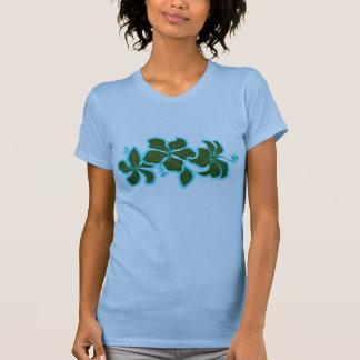 Camiseta T-shirt das senhoras do hibiscus de Kailua