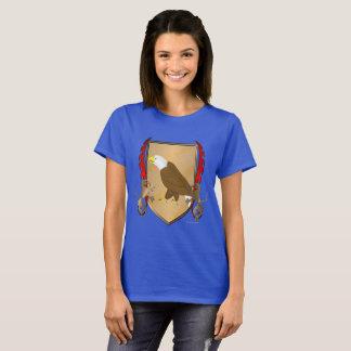 Camiseta T-shirt das senhoras do protetor de Eagle Griffon
