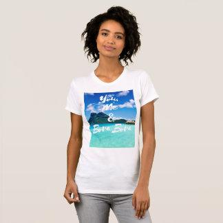 Camiseta T-shirt das senhoras do Threesome