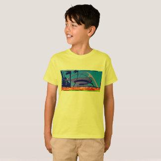 Camiseta t-shirt databent RELAXADO retro dos miúdos!