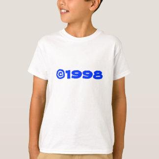 Camiseta t-shirt de 1998 miúdos 2-Sided