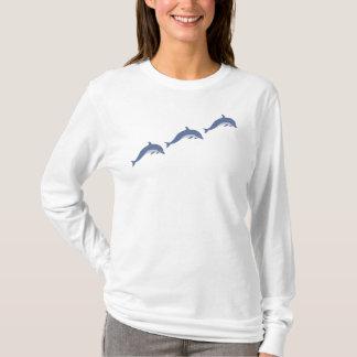Camiseta T-shirt de 3 golfinhos