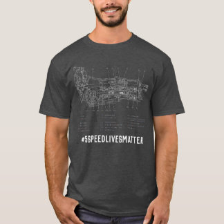 Camiseta T-shirt de #5SpeedLivesMatter