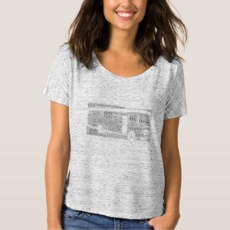 Camiseta T-shirt de acampamento da roulotte do Glamping rv