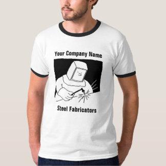 Camiseta T-shirt de aço dos desenhos animados da fabricação