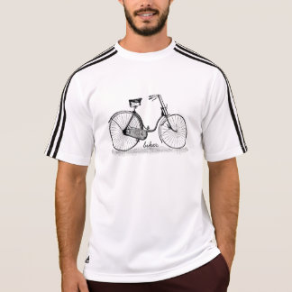 Camiseta T-shirt de Adidas ClimaLite® do motociclista do