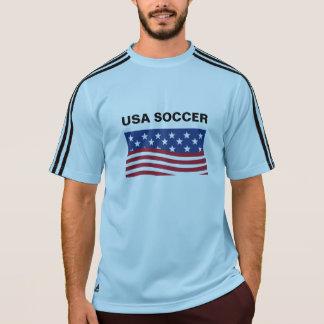 Camiseta T-shirt de Adidas ClimaLite® dos homens do futebol