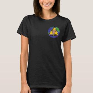 Camiseta T-shirt de advertência global