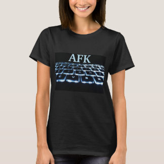 Camiseta T-shirt de AFK (longe do teclado)