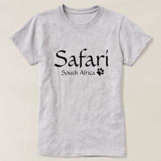 Camiseta T-shirt de África do Sul do safari