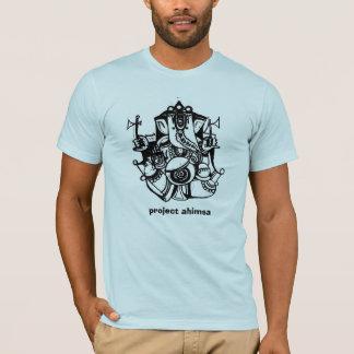 Camiseta T-shirt de Ahimsa do projeto