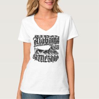 Camiseta T-shirt de Alabama da navio de guerra