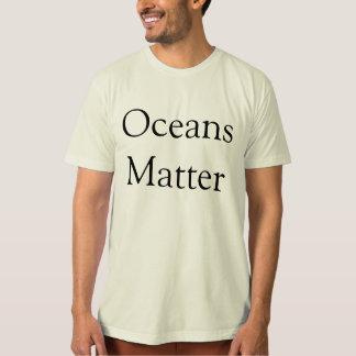 Camiseta T-shirt de Alliance do oceano para homens