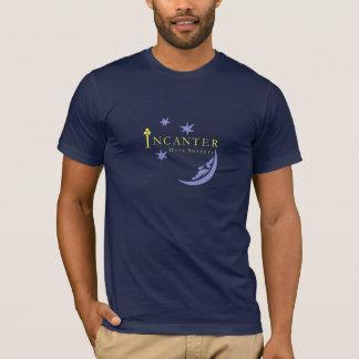 Camiseta T-shirt de alta qualidade do marinho da bruxaria