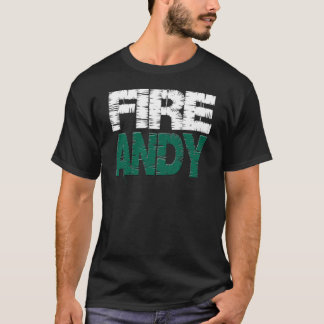 Camiseta T-shirt de Andy Eagles do fogo