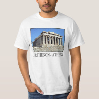 Camiseta T-shirt de Atenas do Partenon