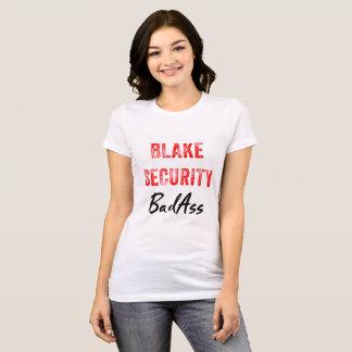 Camiseta T-shirt de BadAss da segurança de Blake