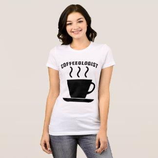 Camiseta T-shirt de BARISTA, COFFEEOLOGIST