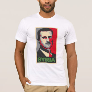 Camiseta T-shirt de Bashar Al-Assad Syria