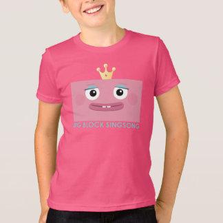 Camiseta T-shirt de BBSS da princesa Miúdo