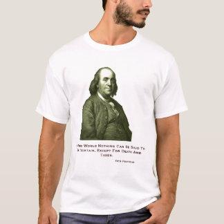 Camiseta T-shirt de Ben Franklin
