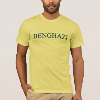 Camiseta T-shirt de Benghazi