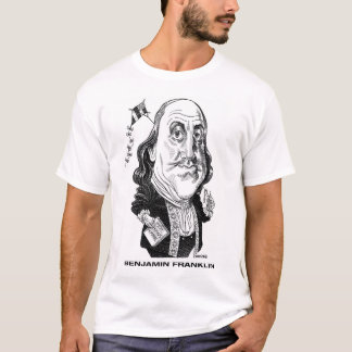 Camiseta T-shirt de Benjamin Franklin