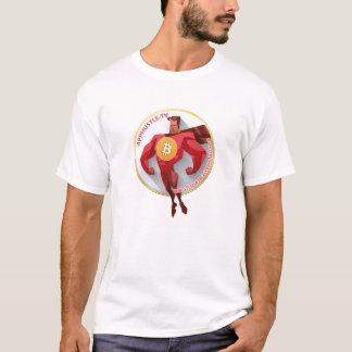 Camiseta T-shirt de Bitcoin Headz