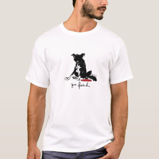 Camiseta T-shirt de border collie