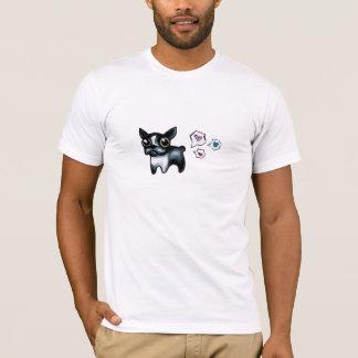 Camiseta T-shirt de Boston Terrier do amor