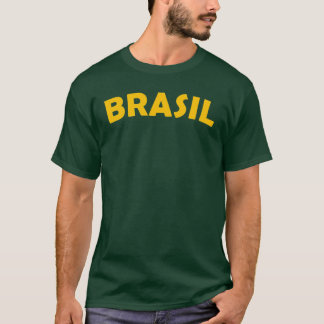 Camiseta T-shirt de Brasil