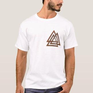 Camiseta T-shirt de bronze de Valknut