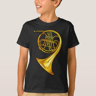 Camiseta T-shirt de bronze legal da trompa francesa