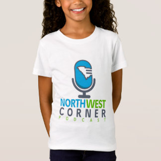 Camiseta T-shirt de canto noroeste das meninas do Podcast