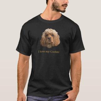 Camiseta T-shirt de cocker spaniel