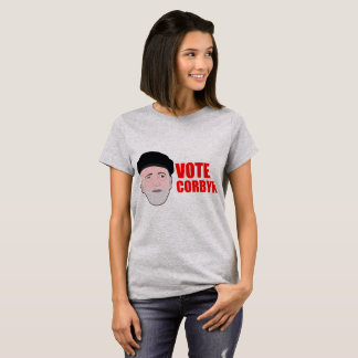 Camiseta T-shirt de Corbyn do voto