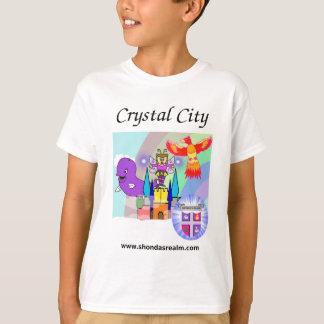 Camiseta T-shirt de cristal da cidade do reino de Shonda