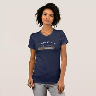 Camiseta T-shirt de Croix do santo - Ts do desenhista
