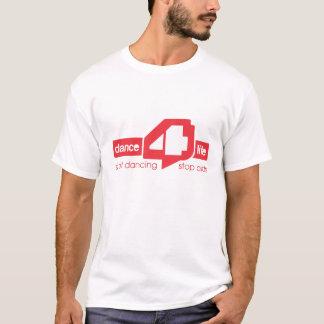Camiseta t-shirt de dance4life