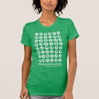 Camiseta T-shirt de Datatypes (mulheres)