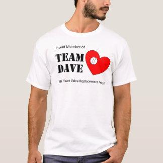 Camiseta T-shirt de Dave da equipe